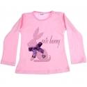 """Μπλουζάκι """"Cute bunny"""" pink"""
