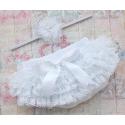Κάλυμμα πάνας-φουστίτσα White