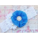 """κορδελα """"Blue lace bouquet"""""""