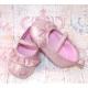 """Παπουτσακια """"Hearts"""" dusty pink"""