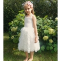 Φόρεμα για κορίτσι Princess ivory white