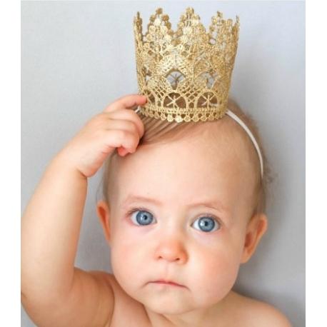 """Κορδελα μαλλιων """"Princess Crown"""""""