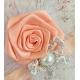 """Κορδελα """"Cream rose& feather"""""""