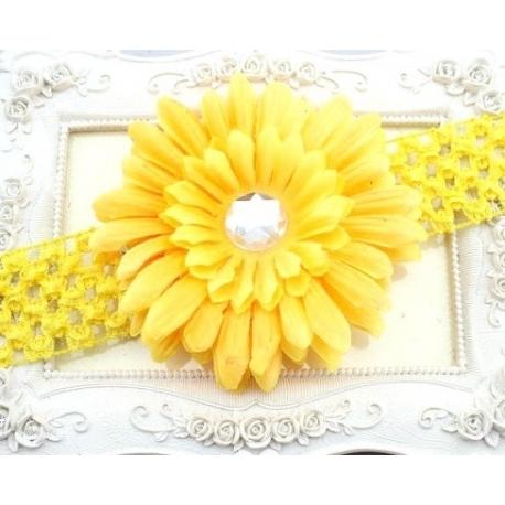 """κορδελα μαλλιων """"Flower"""""""