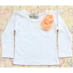 """Μπλουζακι """"Boutique flowers"""" peach"""