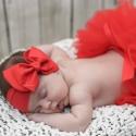 Κορδέλα μαλλιών Red bow