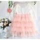 Φορεμα Lace and Tulle με κορδελα