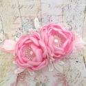Κορδέλα μαλλιών Exclusive Baby pink Flowers