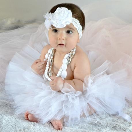 Φουντωτη φουστα White tutu