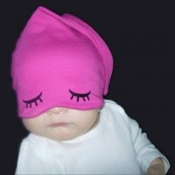 Σκουφακι υπνου ροζ