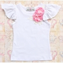 Μπλουζάκι Boutique flowers pink