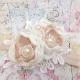 κορδελα μαλλιων Exclusive Champagne Flowers