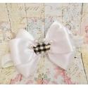 κορδελα μαλλιων Burberry style bow
