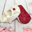Παπούτσια για κορίτσι με την κόκκινη σόλα Cream
