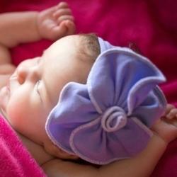 """κορδελα """"Organic Flower"""" Lavender"""