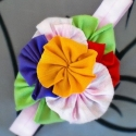 βαμβακερή κορδέλα μαλλιών multicolor