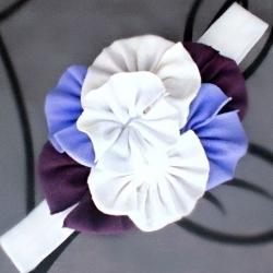κορδέλα μαλλιών lavender bouquet