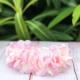 Στεφανάκι βάπτισης ροζ ορτανσία