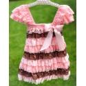 Φόρεμα για κορίτσι με δαντέλα Multicolor
