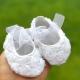 βρεφικά παπουτσάκια White rosette