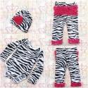 """Σετ για κοριτσι """" Zebra"""""""