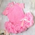 Βρεφικό φορεματάκι Tutu με κορδέλα