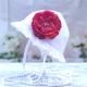 Βρεφικό καπέλο Burgundy flower