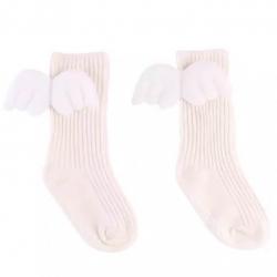 Βρεφικές κάλτσες Angel wings ιβουάρ