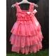 """φορεμα """"Coral Chiffon & Lace"""""""