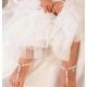 Βαπτιστικά βρεφικά σανδάλια Pearls