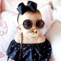Γυαλιά ηλίου για κορίτσια Diva μαύρο