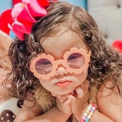 Παιδικά γυαλιά ηλίου για κορίτσια ροδάκινο