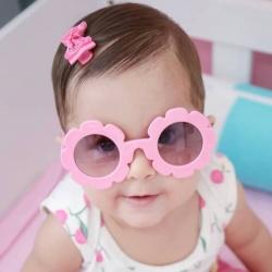 Παιδικά γυαλιά ηλίου για κορίτσια ροζ