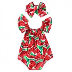 Φορμάκι για κορίτσι με κορδέλα Watermelon
