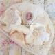 Σκουφακι βαπτισης Ivory Bouquet