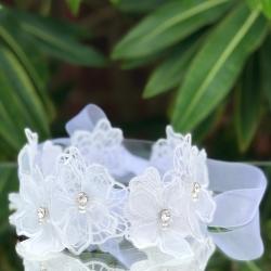 Στεφανάκι βάπτισης White lace