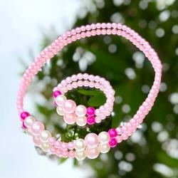 Παιδικό κολιέ και βραχιόλι Multicolor pearls