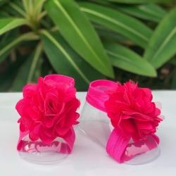 Βρεφικά σανδάλια για μωρά Fuchsia