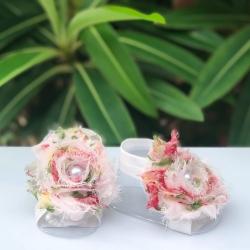 Βρεφικά σανδάλια Flowers