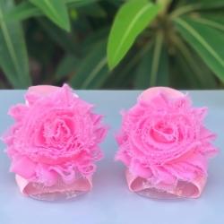 Βρεφικά σανδάλια Pink