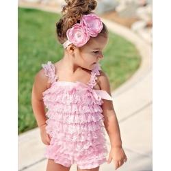 "romper ""baby pink"""