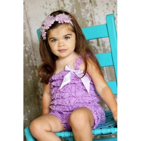 "romper ""purple"""