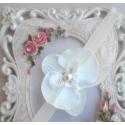 Κορδελα μαλλιων White orchid