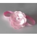 """κορδελα μαλλιων """"pink lily"""""""