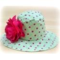 Καπέλο για κορίτσι Green with Fuchsia