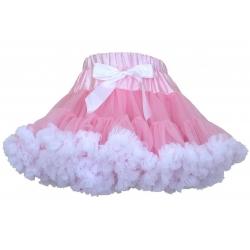 """φουστα """"pink with white"""""""