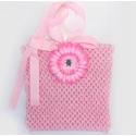 Μπλουζάκι baby pink with flower