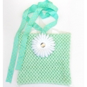 Μπλουζάκι aqua mint with flower