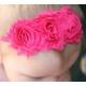 """Κορδελα """"shabby watermelon roses"""""""