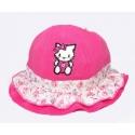 """Καπέλο για μωρό """"Hello Kitty"""" fuchsia"""